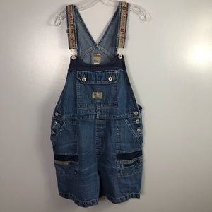 Vintage BUM Equipment Overall Shorts